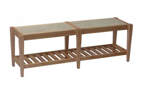 KL-662 TABUNI BENCH NATURAL MINDI